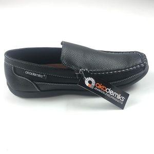 Akademiks Mens Tom 07 Black Slip On Loafers
